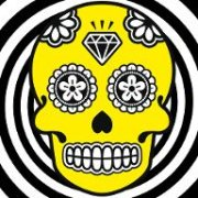 Mexican Skull Yellow 02
