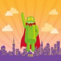 Super hero android