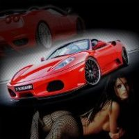 Hamann Ferrari F430 Spider With Girl