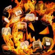 Menu halloween feu