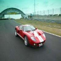 Red SPort Car Racing