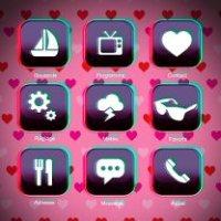 Faux menu love 3D